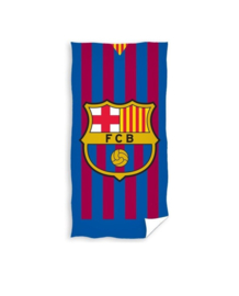 FC Barcelona - Handdoek gestreept