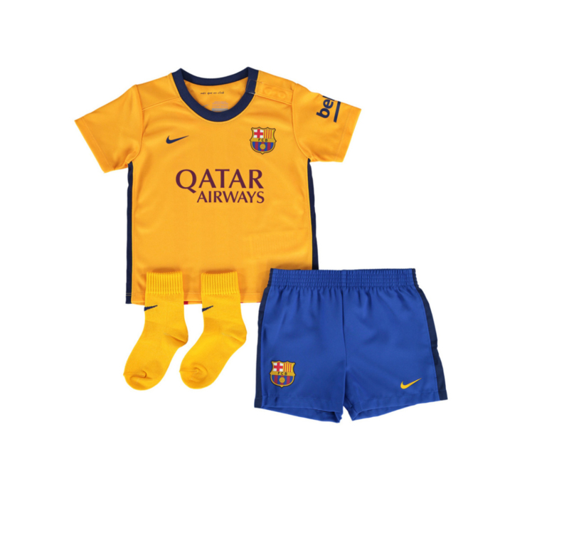FC Barcelona - Minikit uit 2015-2016 Nike
