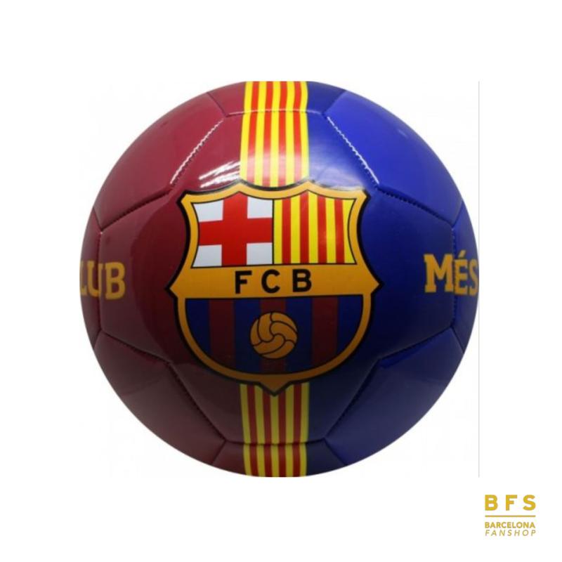 FC Barcelona - Voetbal blauw/rood maat 5