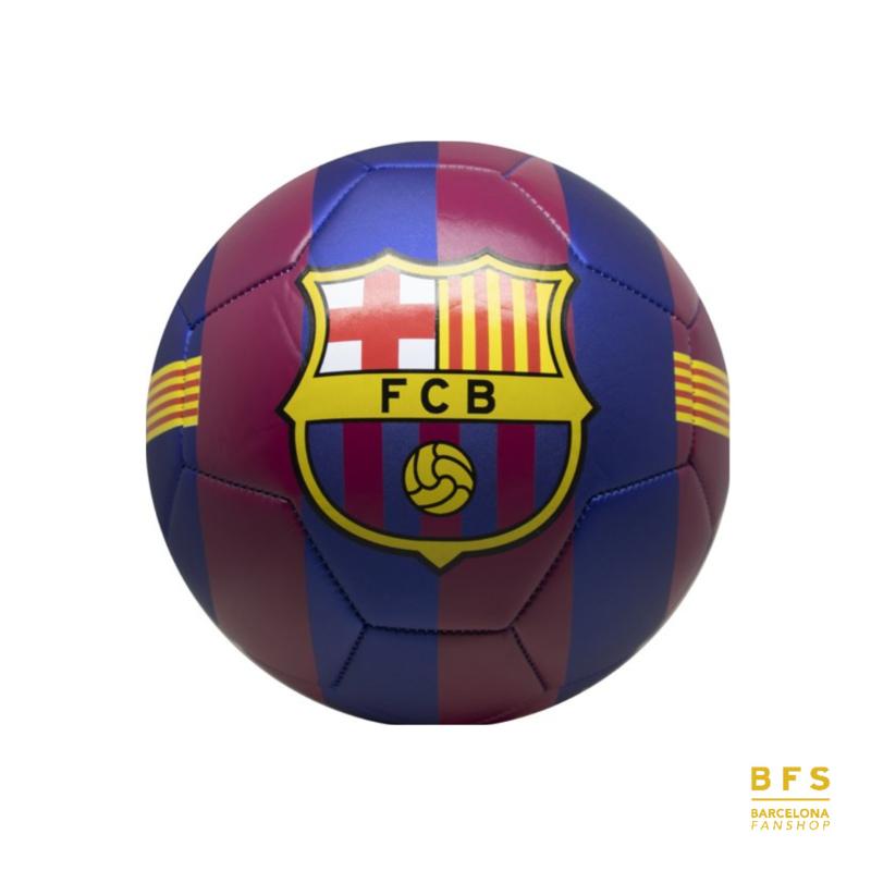 FC Barcelona - Voetbal logo gestreept maat 5