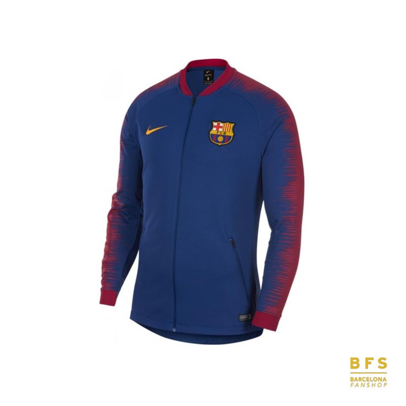 FC Barcelona - Anthem jack senior Royal Blue 2018-2019 Nike