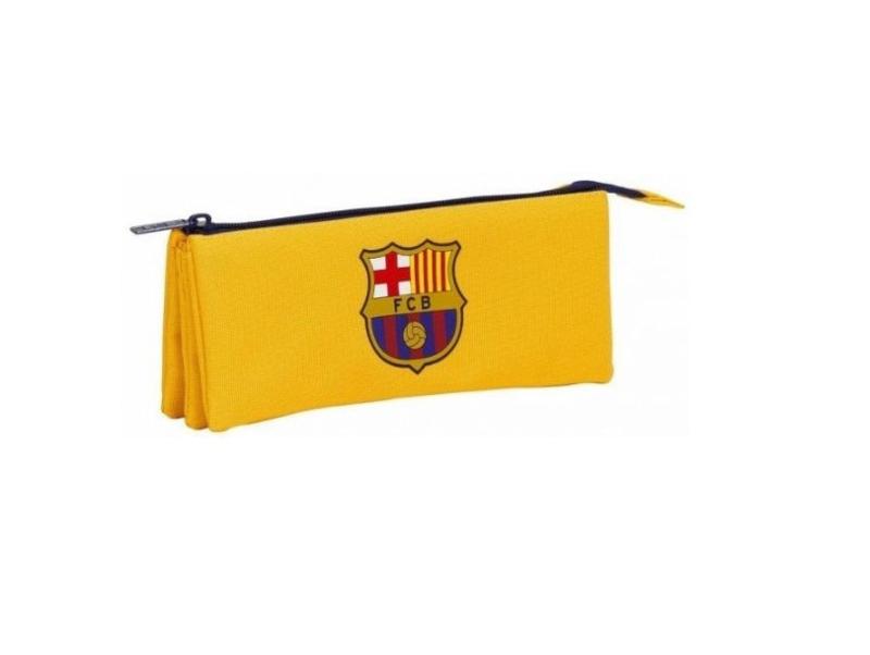 FC Barcelona - Etui geel triple