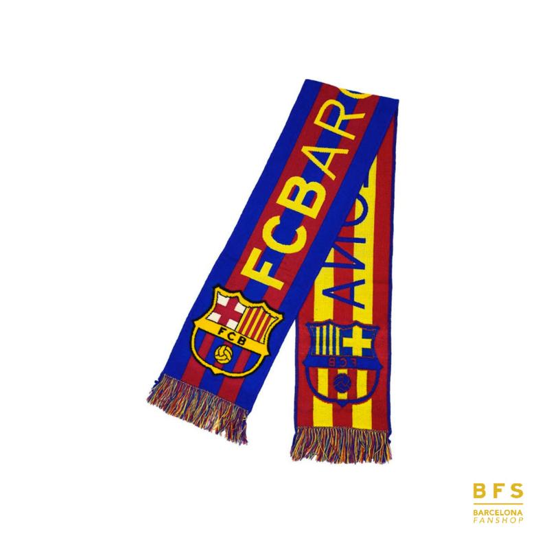 FC Barcelona - Sjaal logo gestreept