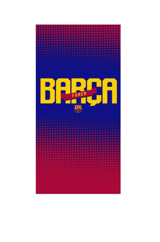 FC Barcelona - Handdoek forza
