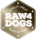 Raw4Dogs 5 Mix - 1,5kg