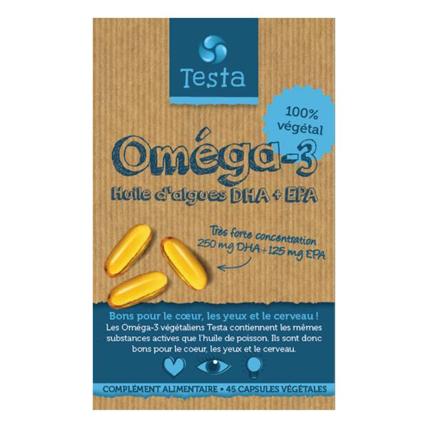 Testa Oméga-3 DHA+EPA 2 stuks