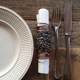 Stylish napkin rings