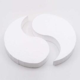 Styrofoam Yin and Yang 20 cm