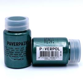 Paverpaint Green Dark metallic