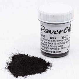 Pavercolor Zwart, 40 ml