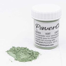 Pavercolor Groen, 40 ml