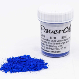 Pavercolor Blauw, 40 ml