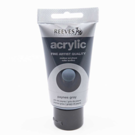 Reeves Acrylverf Paynes Gray, tube 75 ml