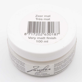Varnish, very matt finish, 100 ml