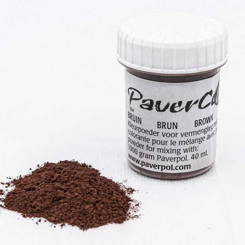 Pavercolor Bruin, 40 ml