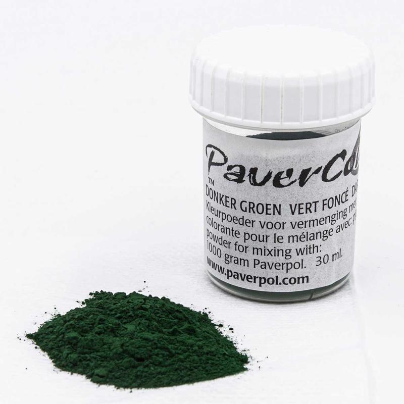 Pavercolor Donker Groen, 30 ml