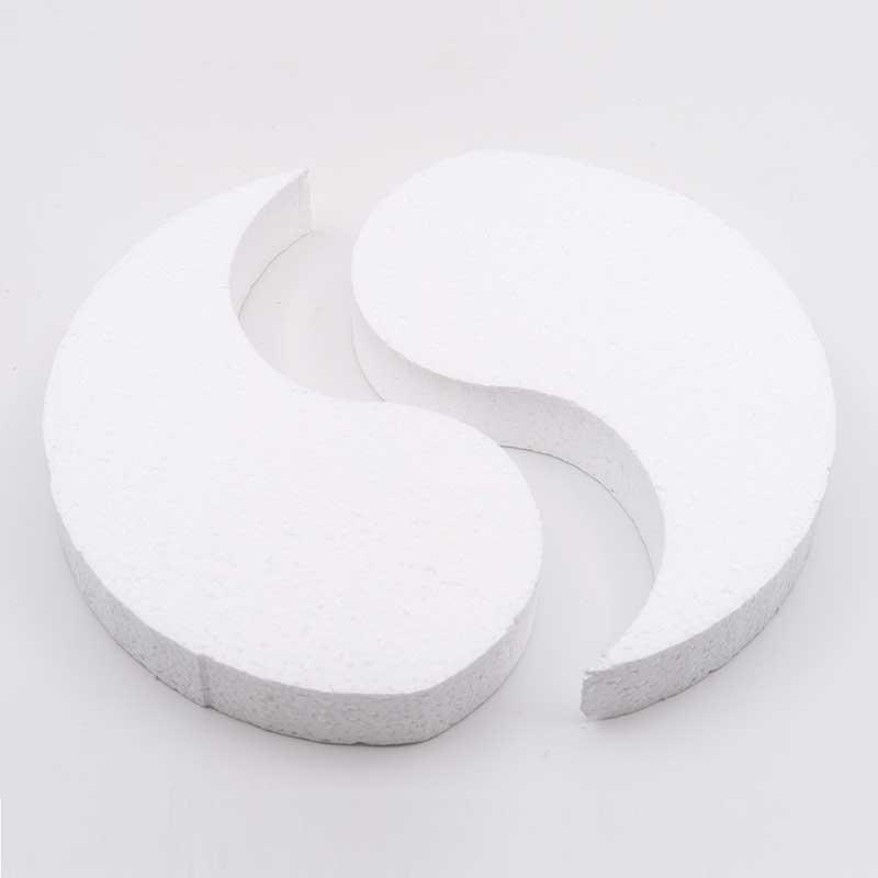 Styropor Yin en Yang 20 cm