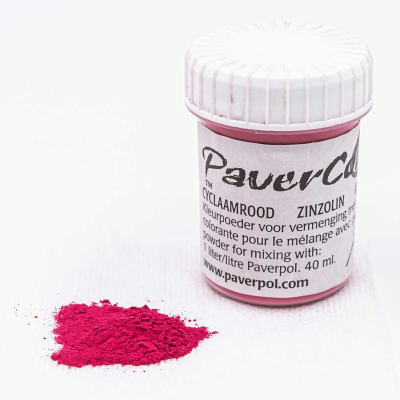 Pavercolor Cyclaam Rood, 40 ml