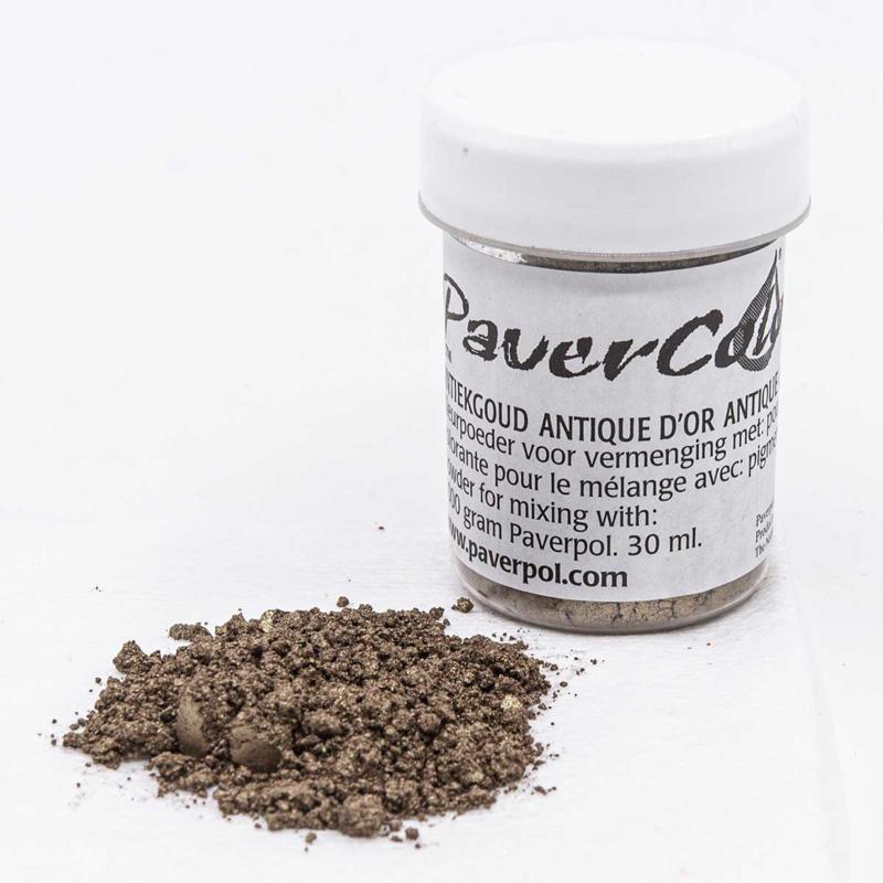 Pavercolor Antiek Goud, 30 ml