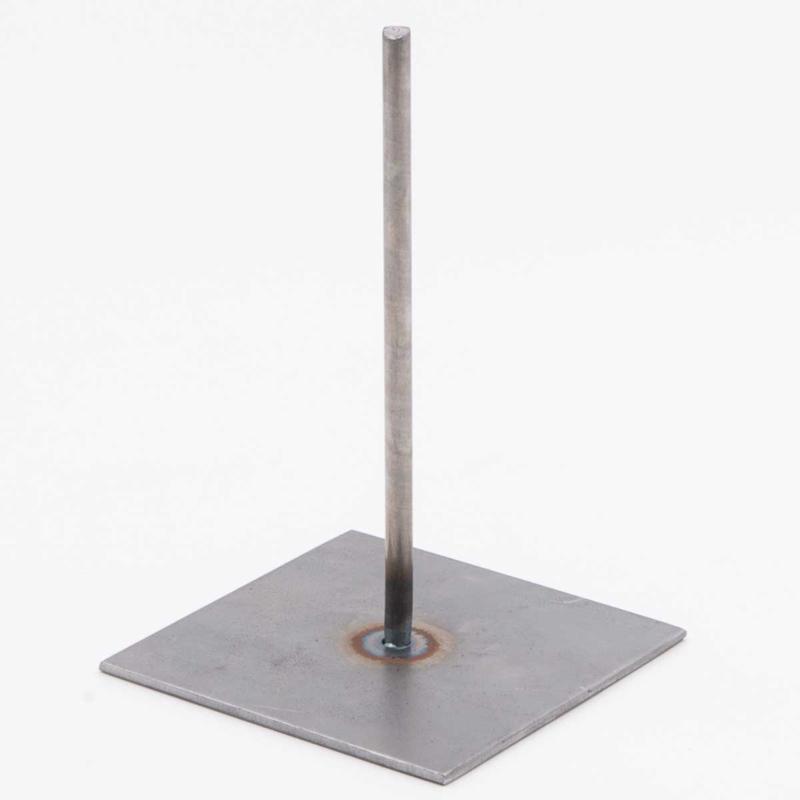 1 metalen pin van 15 cm