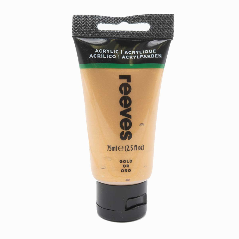Reeves Acrylverf Gold, tube 75 ml