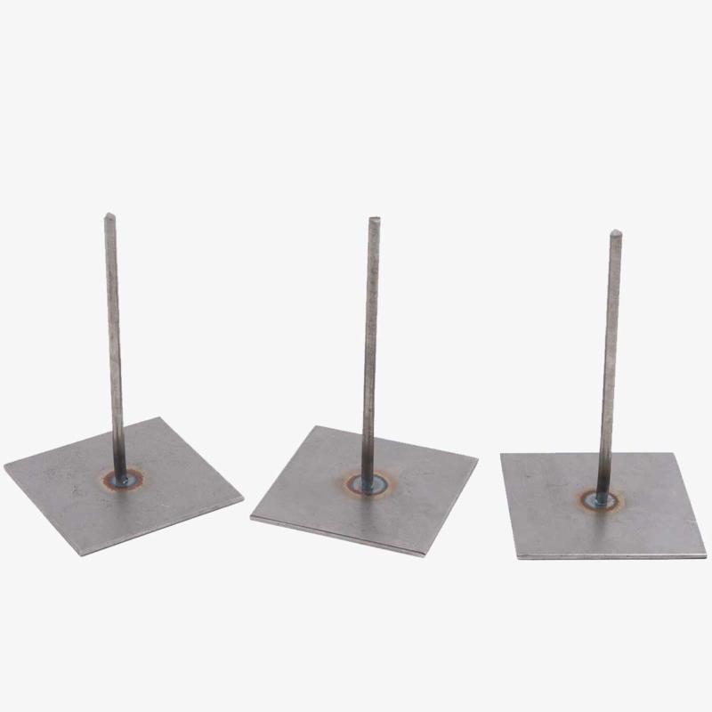 3 metalen pinnen van 15 cm