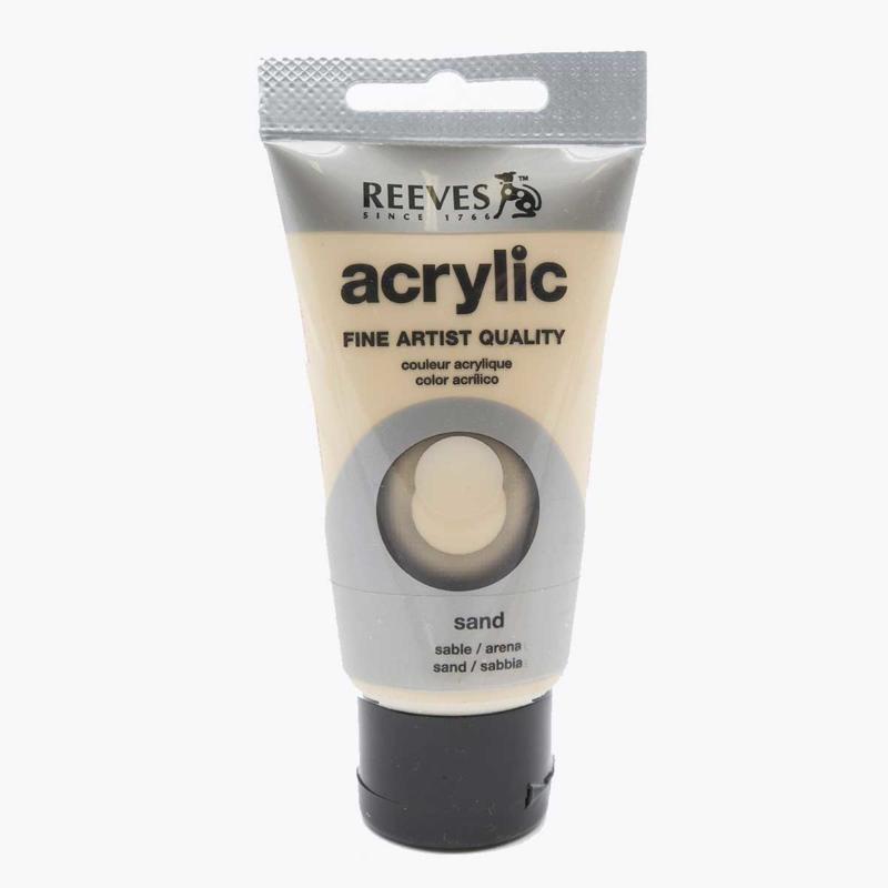 Reeves Acrylverf Sand, tube 75 ml