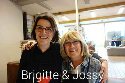 Brigitte en Jossy