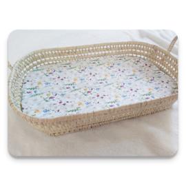 Hoeslaken matras aankleedkussen - happy sunfield