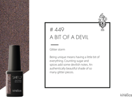 Kinetics Shield 449 A Bit of a Devil 15ml
