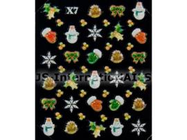 Kerst Stickers - 04