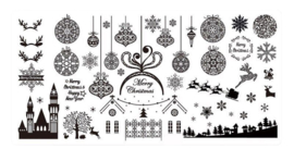 Christmas Stamping Plate - Design 01