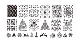 Christmas Stamping Plate - Design 03