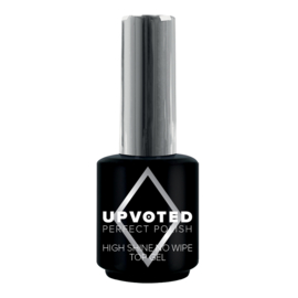 Upvoted High Shine No Wipe Topgel 15ml