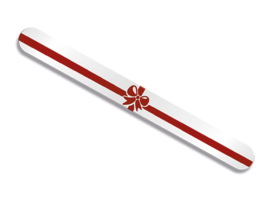 Kerstvijl Red Ribbon