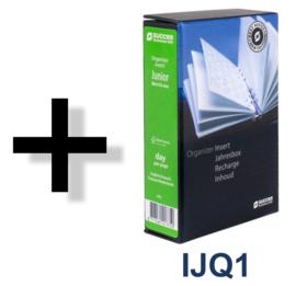Succes Omslag Junior 15 mm Sandton Silver Rood (PJ260SS12)