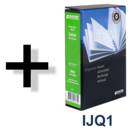 Succes Omslag Junior 10 mm Cadiz Zwart (PJ101CI02)