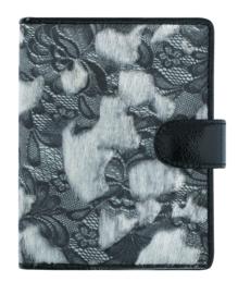 Succes Organizer Junior 20mm Fur Lace Zwart Wit (PS212FA28)