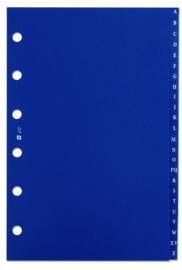 Succes Junior Alfabet Syntetisch, 24-Delig, Blauw (XJ17)