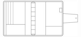 Succes Omslag A5 25 mm Santino Bruin (PE212SA01)