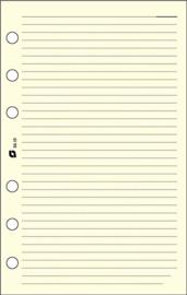 Succes A5/Executive 100 Vel Gelinieerd Notitiepapier, Crème (XE10C)