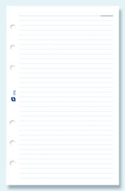 Succes Standard 100 Vel Gelinieerd Notitiepapier, Wit (XT10)
