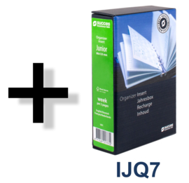 Succes Omslag Junior 15 mm Dion Zwart Wit (PJ212DI28)