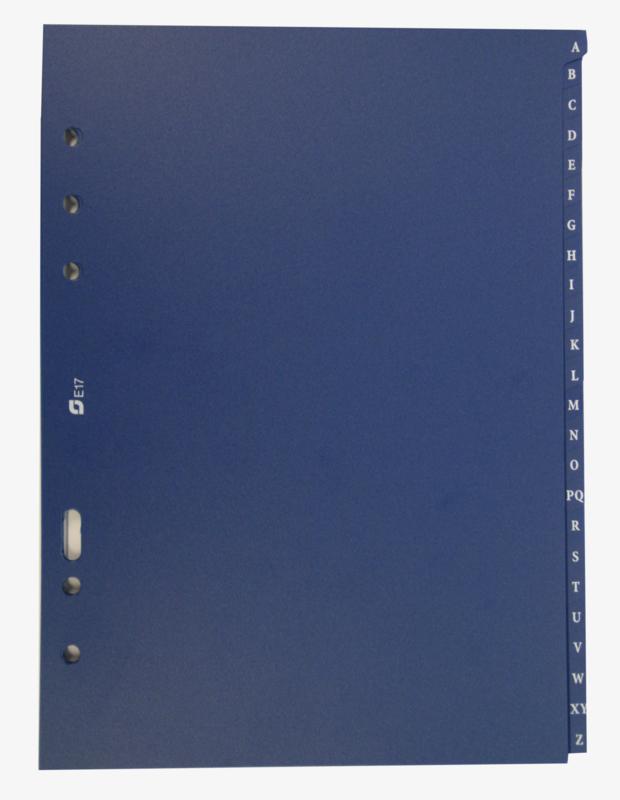 Succes A5/Executive Alfabet Syntetisch, 24-Delig, Blauw (XE17)
