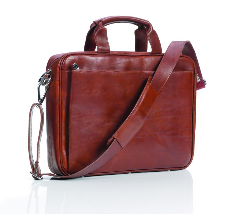 Succes Laptoptas 17 Sandton Cognac (AZ809SD05)