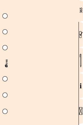 Succes A5/Executive 5 Tabkaarten Symbolen, Papier, Crème (XE160)