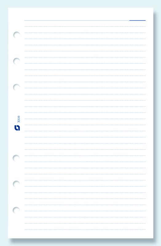 Succes Senior 100 Vel Gelinieerd Notitiepapier, Wit (XS10)