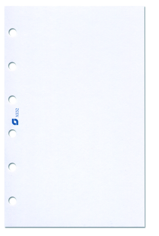 Succes A5/Executive 100 Vel Notitiepapier, Blanco  (XE52)
