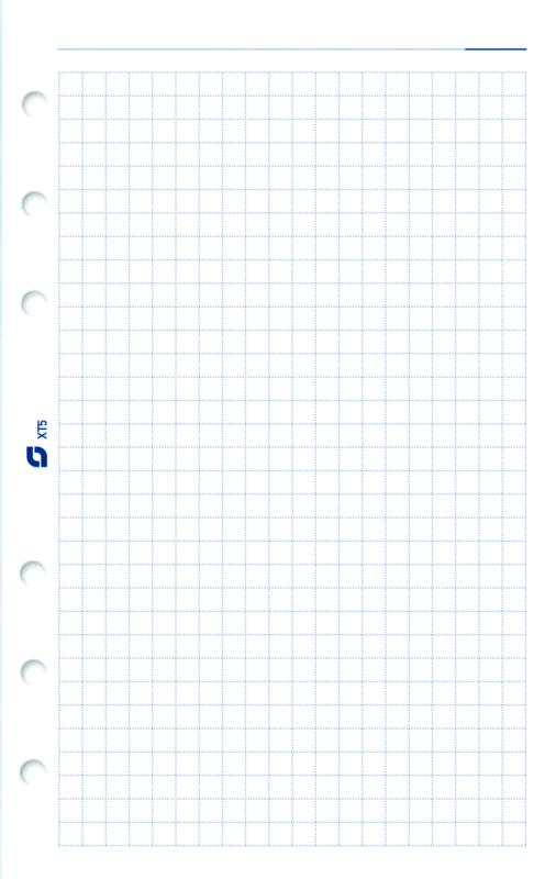 Succes Standard 100 Vel Geruit Notitiepapier, Wit (XT5)