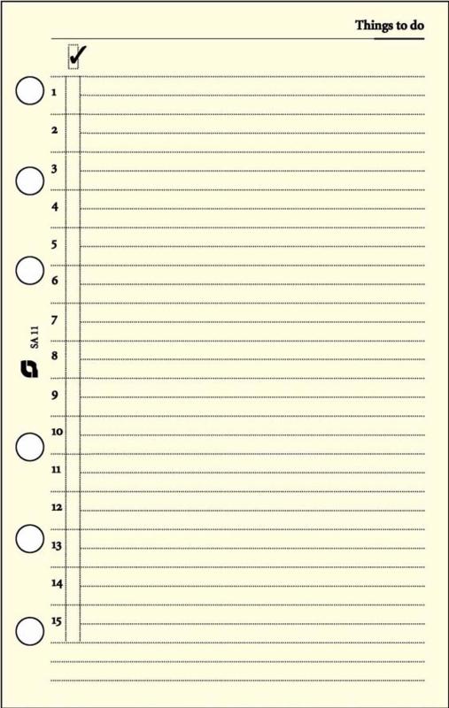 Succes Standard 100 Vel Gelinieerd Notitiepapier, Crème (XT10C)